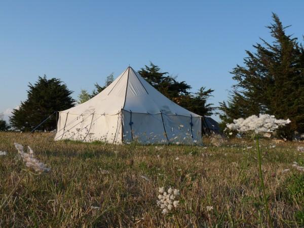 La tente berbère