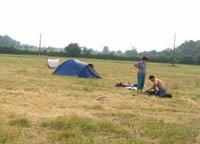camping possible à l'ombre ou au soleil