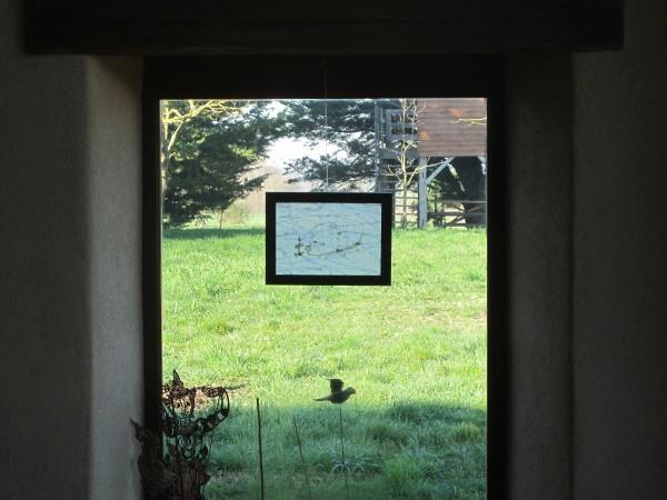 Fenêtre donnant sur la cour intérieure