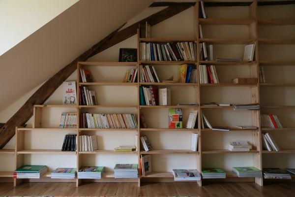 livres mis à disposition des dormeurs